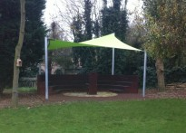 Bourne Abbey C of E Primary School - Shade Sail