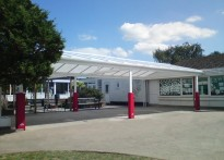 Hampton Infant School & Nursery - Free Standing canopy