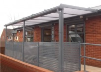 Penfold Children's Centre - Wall Mounted Canopy