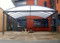 Helsby High School - Free Standing Canopy