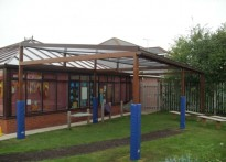 Noah's Ark Day Nursery - Free Standing Canopy