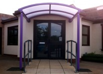 White Hall Academy -  Entrance Canopy