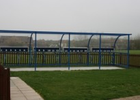 Hamford Primary School - Cycle shelter