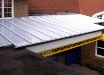 Sudbourne Primary School - Wall Mounted Canopy