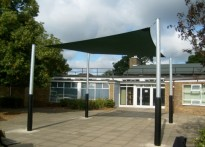 Hereward Primary School - Shade Sail