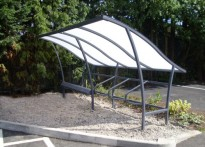 Marthall Village Hall - Cycle Shelter