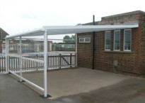 Manor Infant School - 3rd Wall Mounted canopy