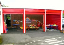 Middlewich Primary School - Wall Mounted Canopy