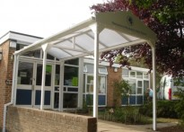 Monkwick Infant & Nursery School - Entrance Canopy