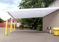 Abbottsbury Primary Primary School - Wall Mounted Canopy