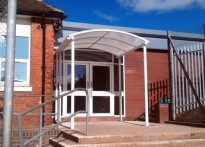 Sir Thomas Boughey High School - Entrance Canopy