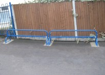 Rayleigh Primary School - Scooter Racks