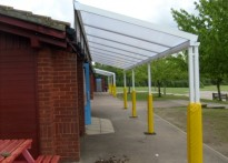 Ryedene Community Primary School - 2nd Wall Mounted Canopy