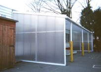 Devonshire Primary School Nursery - Wall Mounted Canopy