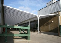 The Harwich School & Language College - Wall mounted Canopy
