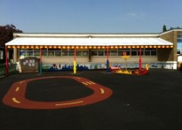 The Willows Primary School - Wall Mounted Canopy