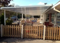 Holmesdale Infant School - Wall Mounted Canopy