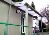 Limpsfield Grange School - Wall Mounted Canopy