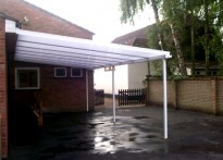 Rainbows Nursery School - Wall Mounted Canopy