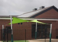 Madeley Centre - Shade Sail
