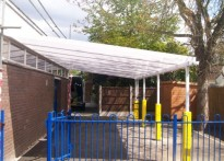 Thames Ditton Centre/Youth Centre - Wall Mounted Canopy
