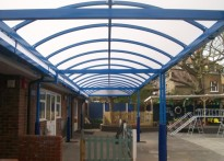 Thomas Wall Nursery School - Free Standing Walkway