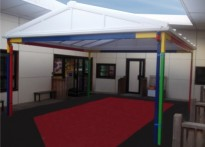 Whitmore Infant School & Nursery - Free Standing Canopy