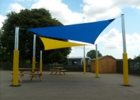 Whitmore Infant Junior School - Shade Sail