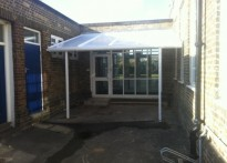 Whybridge Junior School - 2nd Wall Mounted Canopy