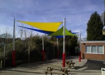Nine Mile Ride Primary School - Shade Sail