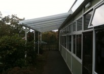 Manor House Primary School - 2nd Wall Mounted Canopy