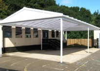 St Peter's C of E Primary School - Free Standing Canopy