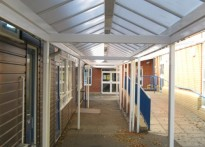 Kennington C of E Junior School - Free Standing Canopy