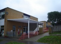Highview School - Wall Mounted Canopy