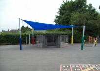Loose Infant School - Shade Sail