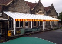 Parson Street Primary School - Wall Mounted Canopy