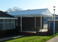 The Manor CP Junior School - Entrance Canopy