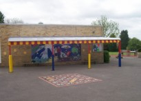 Loose Infant School - Wall Mounted Canopy