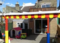 Premier Lodge Day Nursery - Wall Mounted Canopy