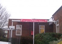 Singlewell Primary School - Wall Mounted Canopy - 1st Installation