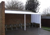 The Downs CE Primary School - Cyle Shelter - Second Installation