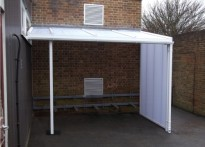 The Downs CE Primary School - Cycle Shelter - Third Installation