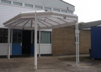 Lampard Vachell Community School - Free Standing Canopy