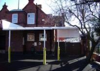 Leopold Primary School - Wall Mounted Canopy