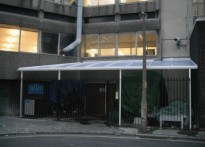 London South Bank University - Wall Mounted canopy