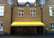 St Cuthbert with St Matthias CE Primary School - Commercial Awning