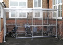 Sherington Primary School - Buggy Shelter