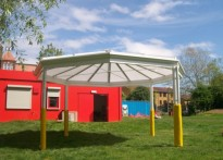 Apples & Pears Adventure Playground - Free Standing Canopy