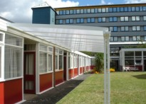 Southwark Council Day Care Centre - Wall Mounted Canopy