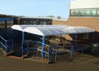 St Chad's Catholic High School - Free Standing Canopy